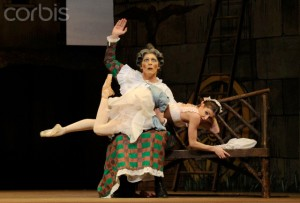 "UK - ""La Fille Mal Gardee"" Performance in London"