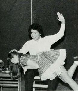 Child wonder 1981 downey Sandy Stewart being spanked