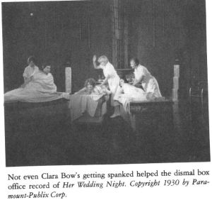 Clara Bow Her Wedding Night