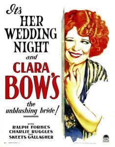 Clara Bow HWN poster