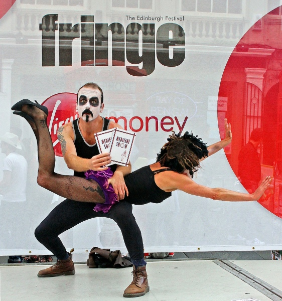 Medicine Show Edinburgh Fringe 2012 b