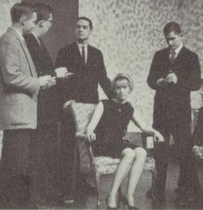 Spring Journey 1963 Hammond Griselda meets the press