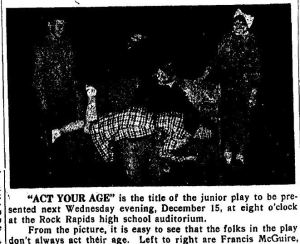 Act Your Age 1949 Rock Springs Iowa