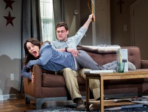 Permission Elizabeth Reaser & Justin Bartha