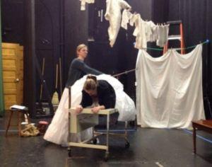 23 Desdemona Theatre Kapow rehearsal