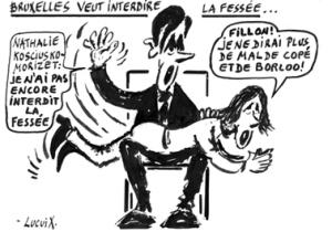 08 July 11 2008 Sarkozy spanks NKM