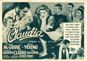 Claudia 1946 1