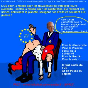 38 2015 Pierre Moscovici euro-UE-fessée-austérité-France