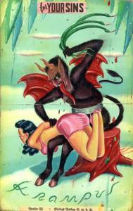 krampus-spanking