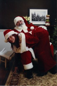 Santa 2014 Lenwood & Melonie Cole