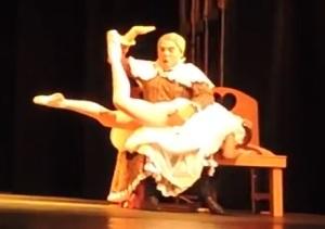 2015 Fernanda Barreto spanking