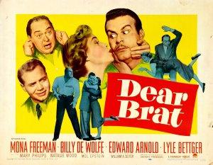 32 1951 Dear Brat poster 1