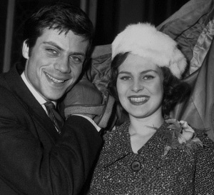 31 Oliver Reed and Kate Byrne
