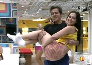 Brazilian Big Brother Max and Francine