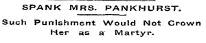 Pankhurst NYT