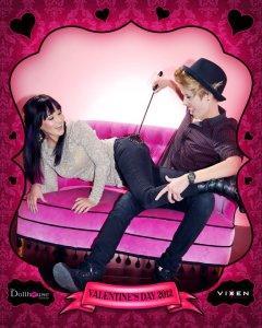 Vixen Photography 2012 Valentine's Day photobooth 1
