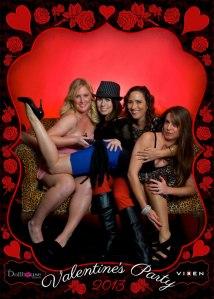Vixen Photography 2013 Valentine's Day photobooth 3