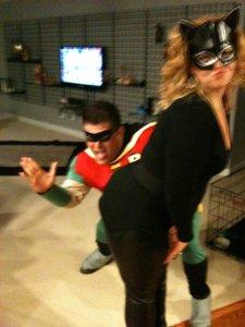 catwoman smacked Lori Irwin-Macdonald