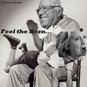24 Bernie Sanders & Hillary Clinton