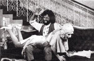1974 O Machao with Antonio Fagundes & Maria Izabel de Lizandra