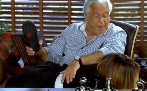 2010 Tempos Modernos Antonio Fagundes spanks Regiane Alves