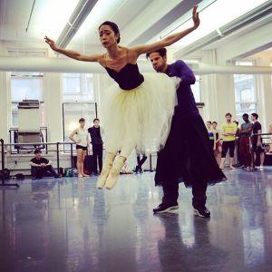2016 American Ballet Theatre rehearsal Stella Abrera