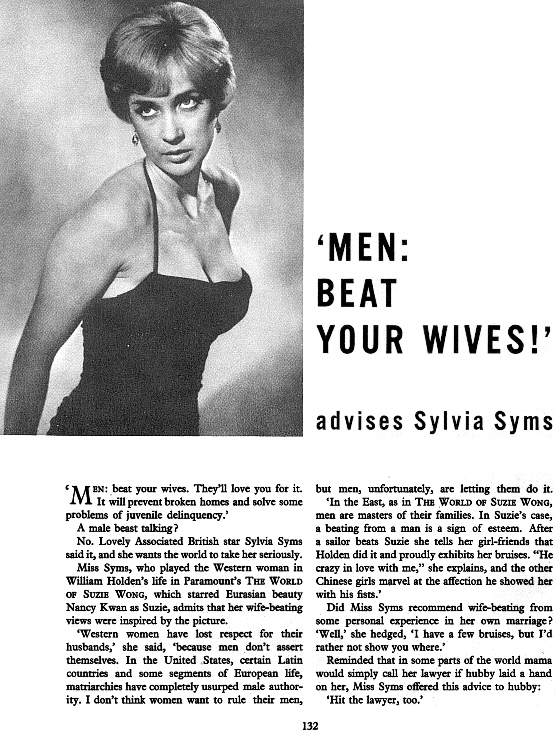 Sylvia Syms interview