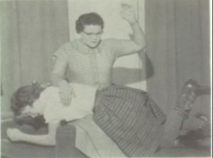 Dateline 19159-60, at Fairfax High School, Missouri: the earliest known spanking photo from the play