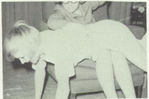 The 1966-67 senior play at Perrin-Whitt High School, Texas