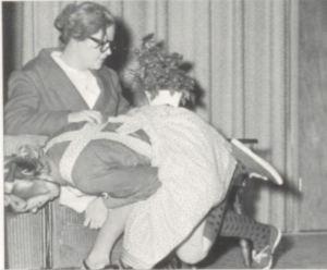 Oklahoma, 1967: a spanking at Marietta High on April 22