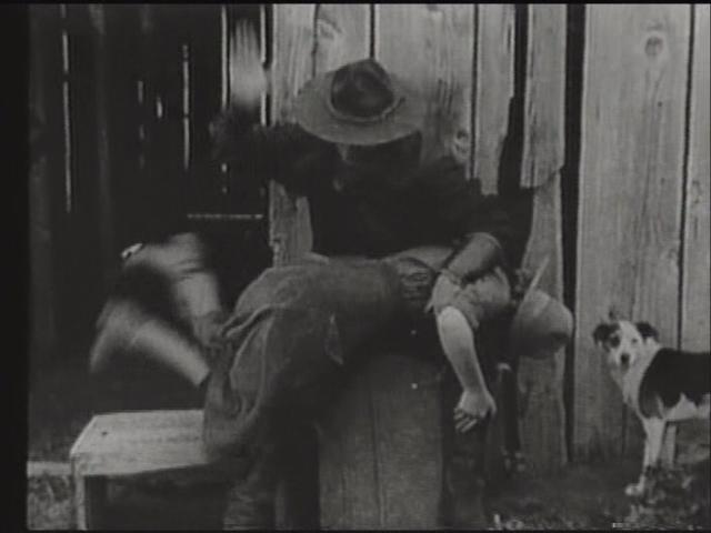 In movies spanking Women Being