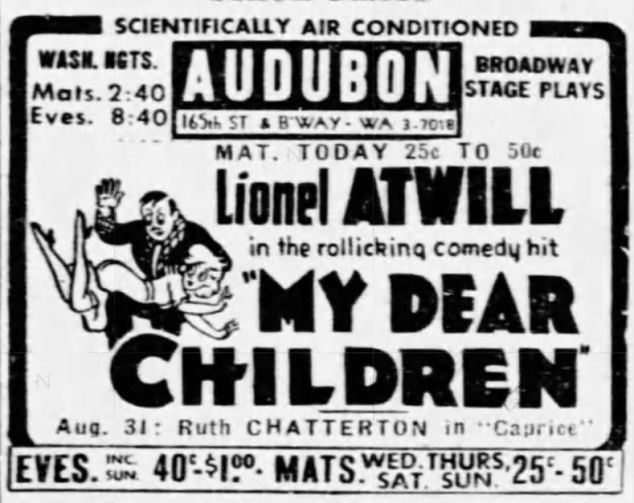 My Dear Children 1943 Atwill