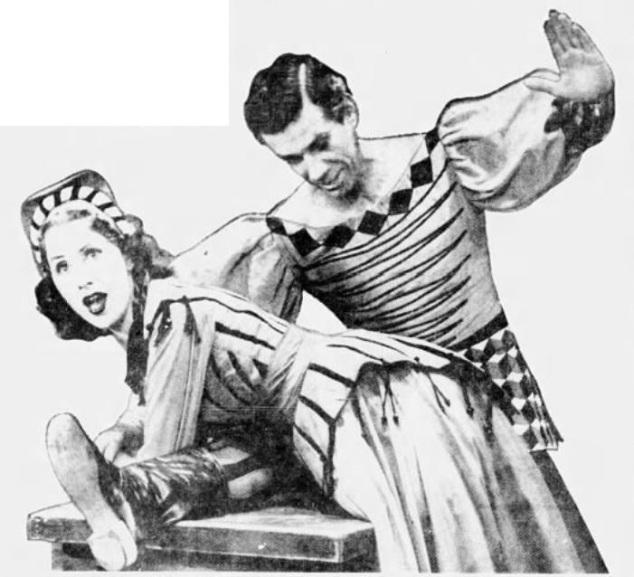 1951 Frances McCann and RObert Wright