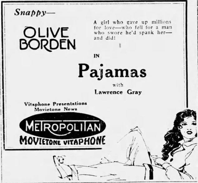 Pajamas 1927