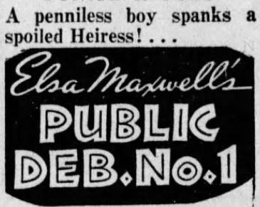 Public Deb penniless