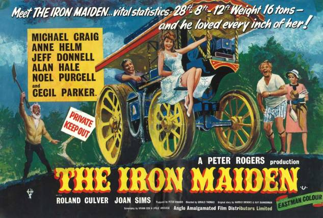 10 Iron Maiden British poster