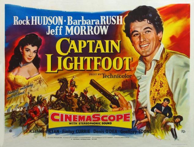 39 Captain Lightfoot British poster