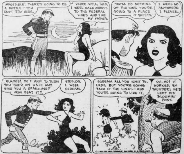 1932 wash Tubbs 7 Oct