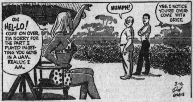 Buz Sawyer 1947 context ag