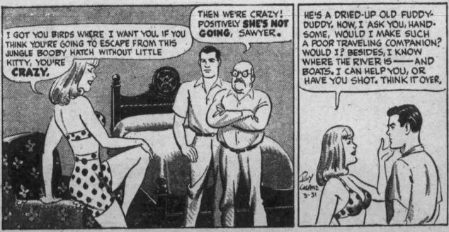 Buz Sawyer 1947 context ao