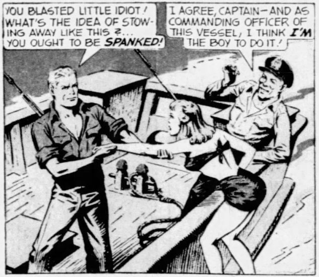 1945 July 8 Captain Yank