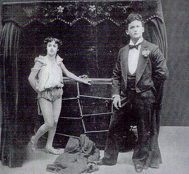 Houdini and wife