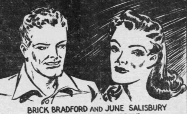 Brick Bradford and June